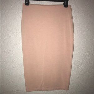 Forever 21 Pink Pencil Skirt